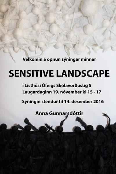 Anna Gunnarsdóttir með sýningu í Listhúsi Ófeigs.